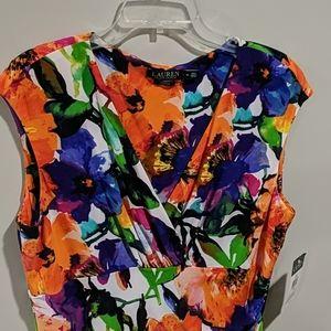 Bold and Brite Lauren Dress NWT